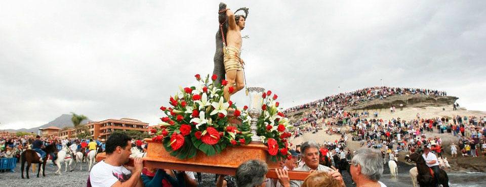 Fiesta de San Sebastián in La Caleta