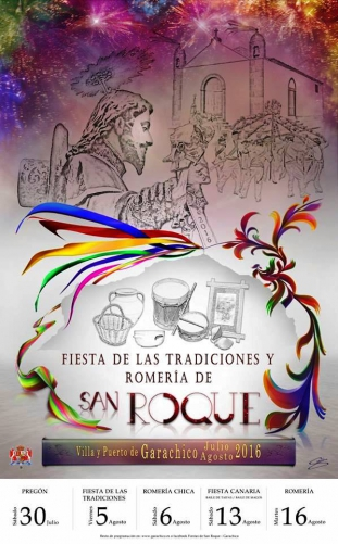 Traditional Fiestas of San Roque in Garachico