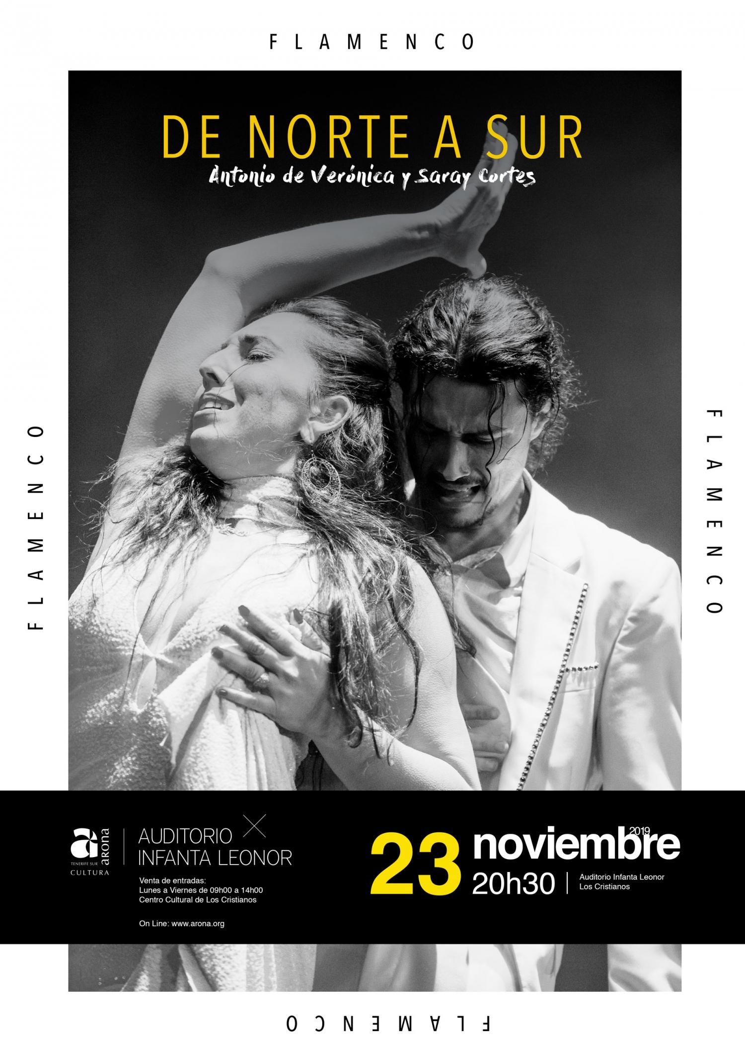 Flamenco From North to South Performed by Antonio de Verónica y Saray Cortés