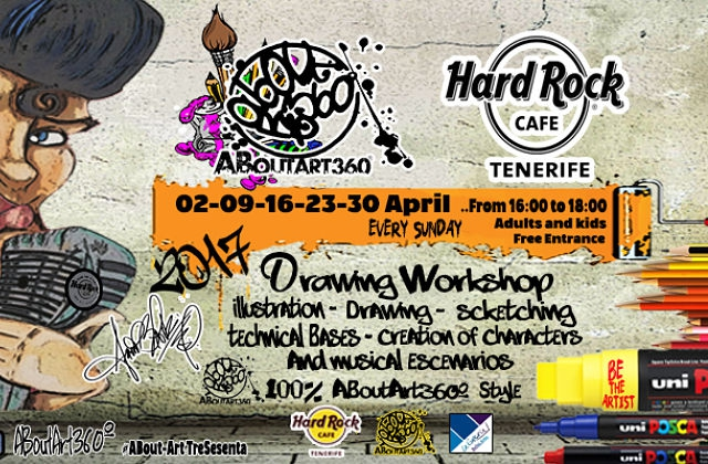 Free Drawing Workshop at Hard Rock Cafe