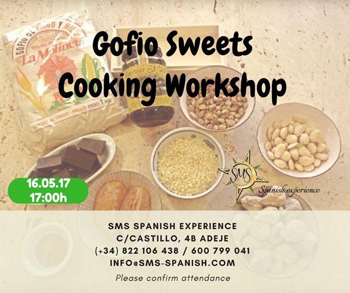 Gofio Sweets Cooking Workshop