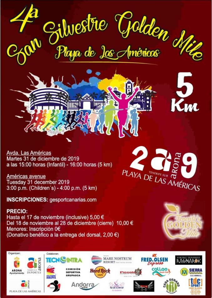 Golden Mile New Year's Eve Run