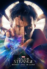 Doctor Strange at the Cinema in English.