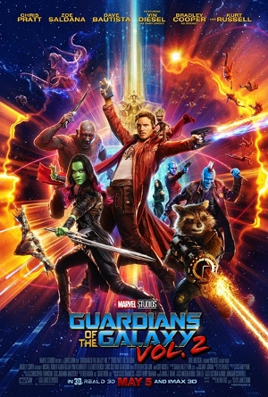 Guardians of the Galaxy Vol 2 in English