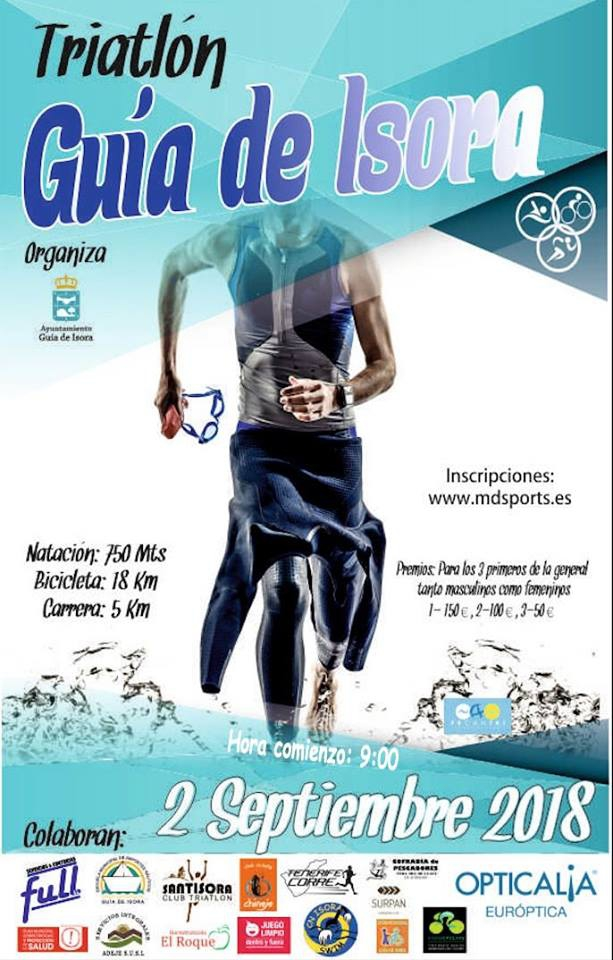 Guia de Isora triathlon 2 september