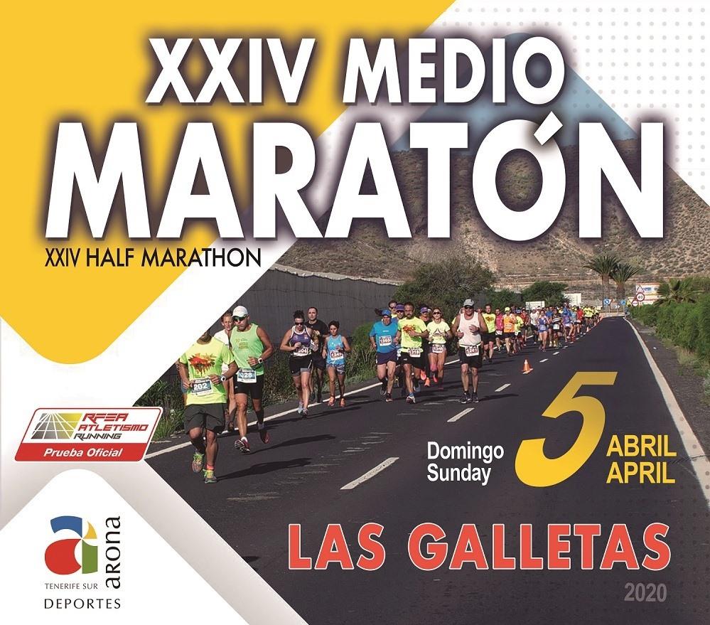 Half Marathon 2020 -  Las Galletas