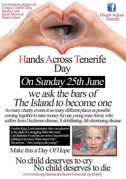 Hands Across Tenerife Day