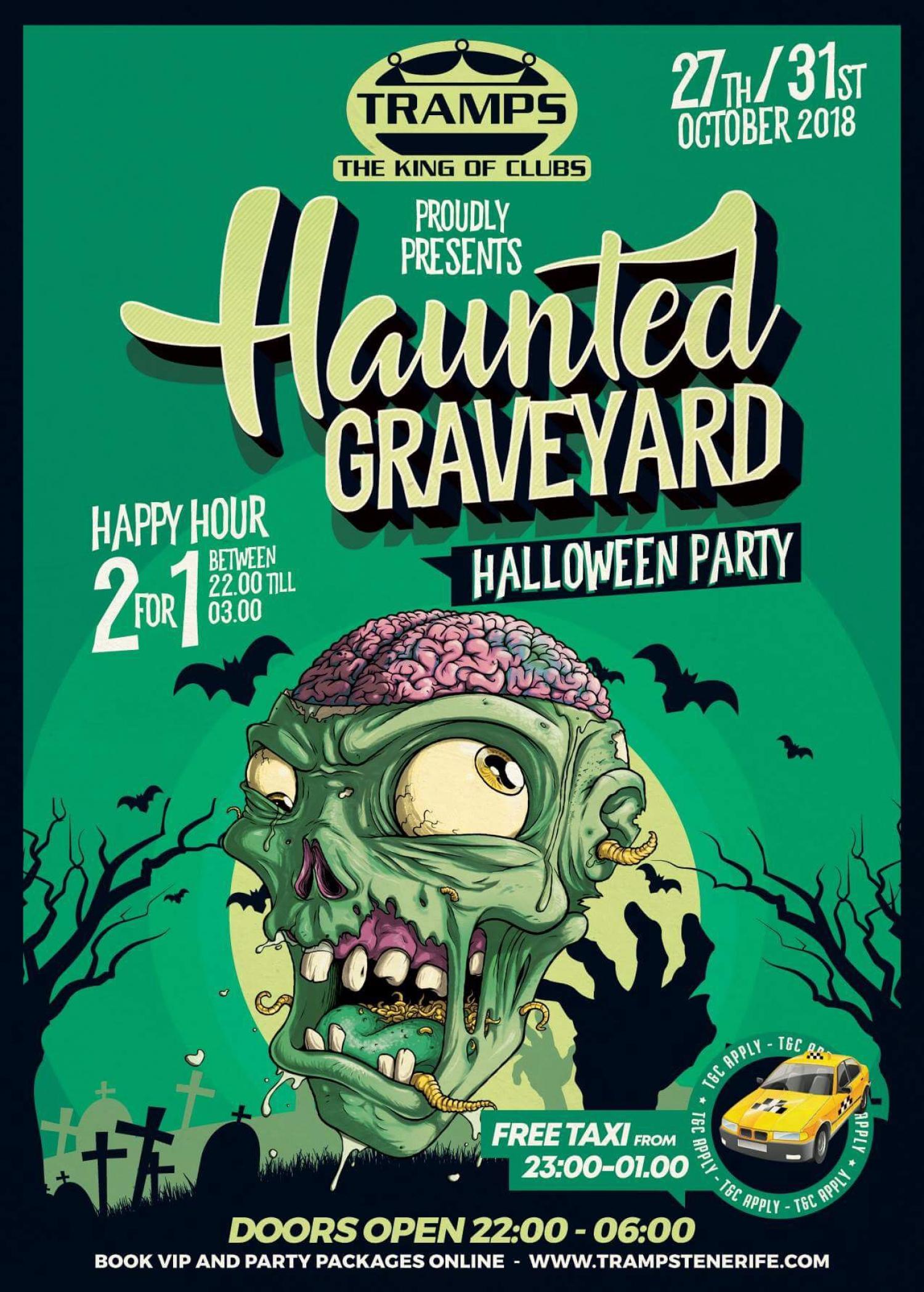 Haunted Graveyard Halloween Party