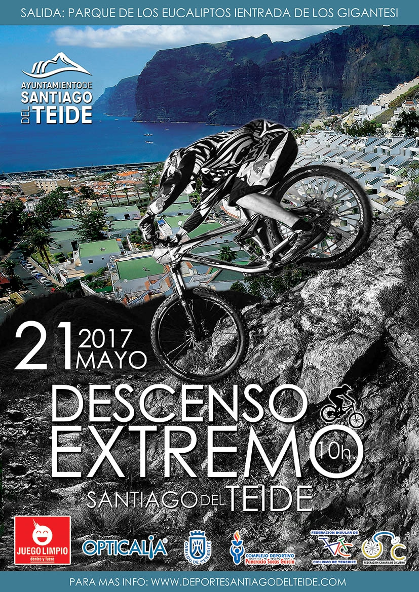 II Descent Extreme Mountain Bike Challenge