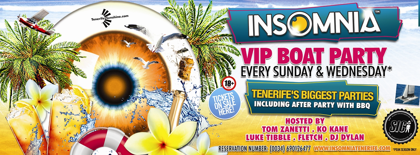 Insomnia at Sea VIP Boat Party