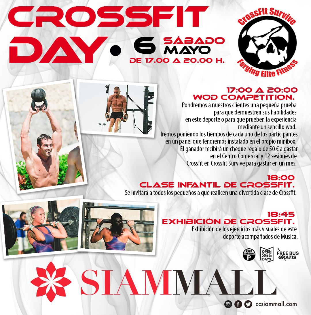 Interactive Crossfit Exhibition in Siam Mall