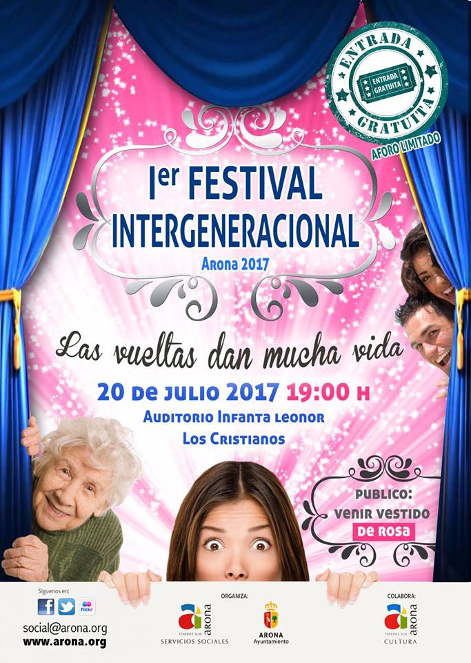 Intergenerational Festival in Los Cristianos