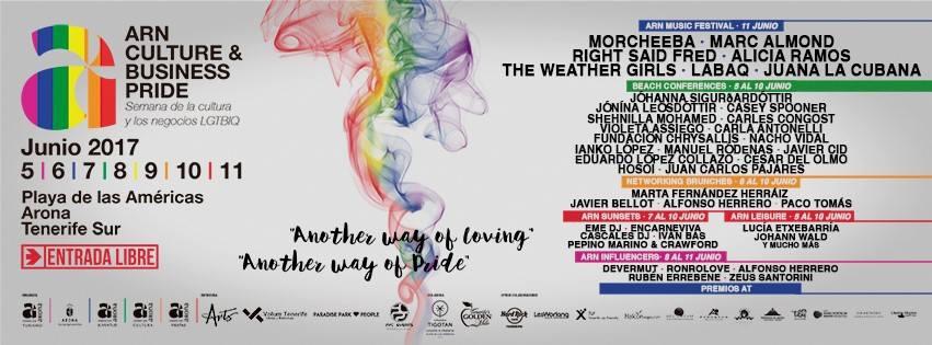 International LGTBIQ Culture Week in Las Americas