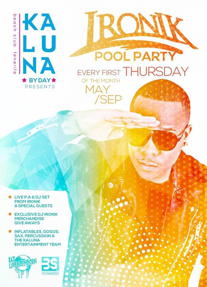 Ironik Pool Party