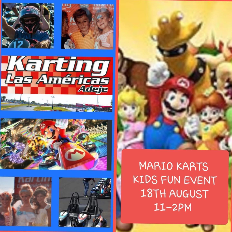 Karting Las Americas - Mario Karts Kid's Karting Competition