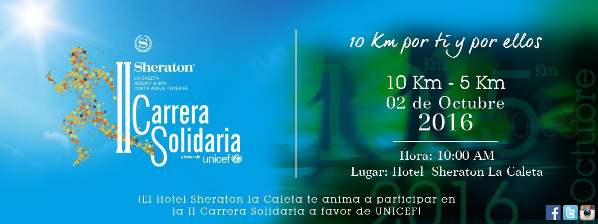 Charity Race for UNICEF by Hotel Sheraton La Caleta