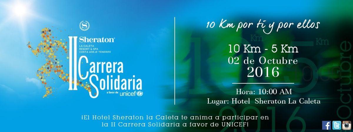 Charity Race for UNICEF by Hotel Sheraton La Caleta
