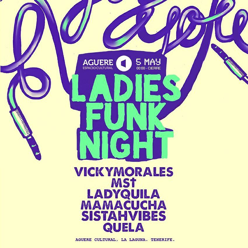 Ladies Funk Night in La Laguna