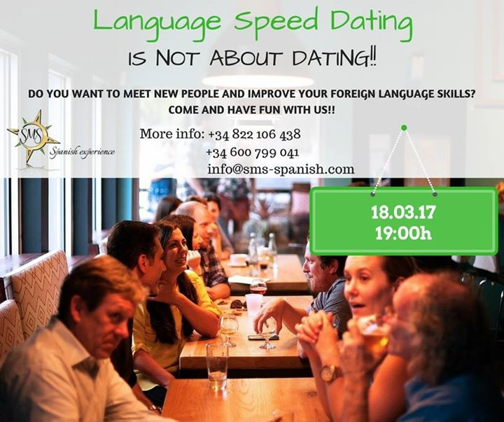 Language Speed Dating - SMS Spanish Experience