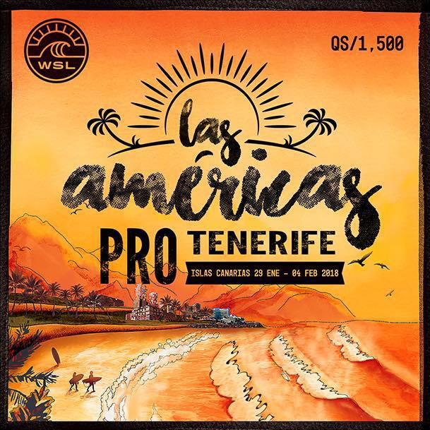 Las Americas Pro Tenerife Surf Competition