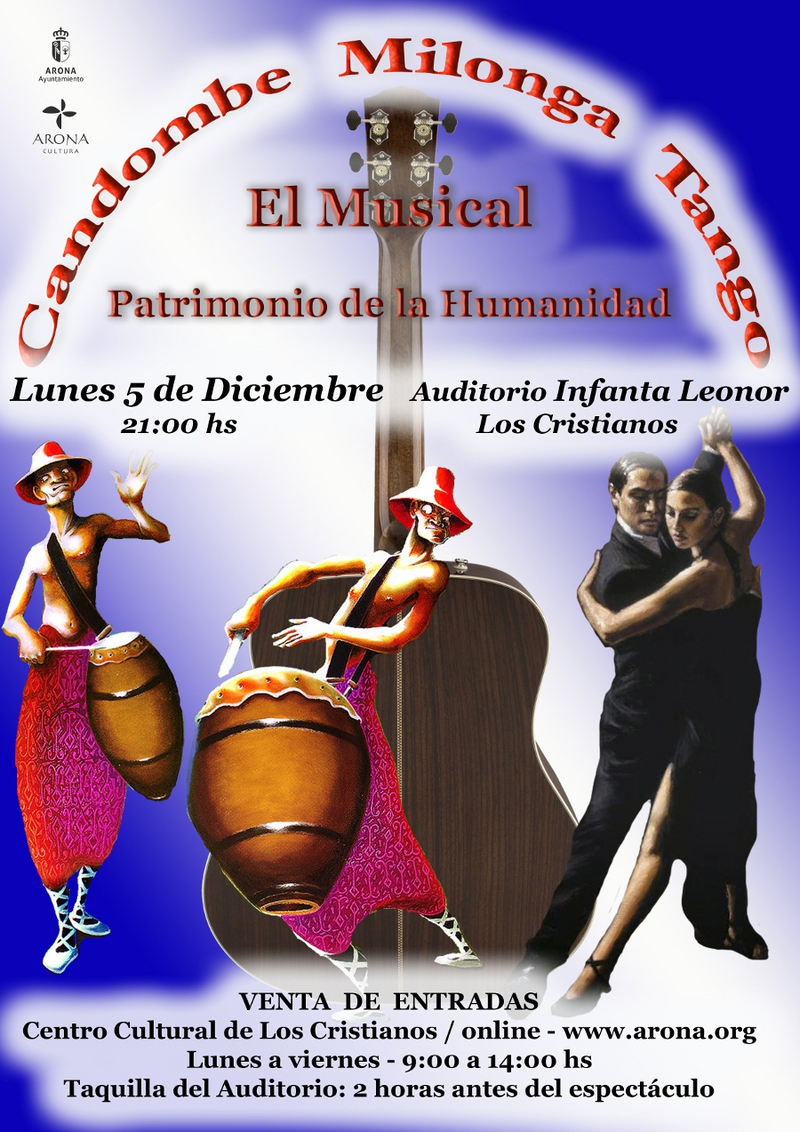 Latino Dancing Spectacular in Los CristIanos Auditorium