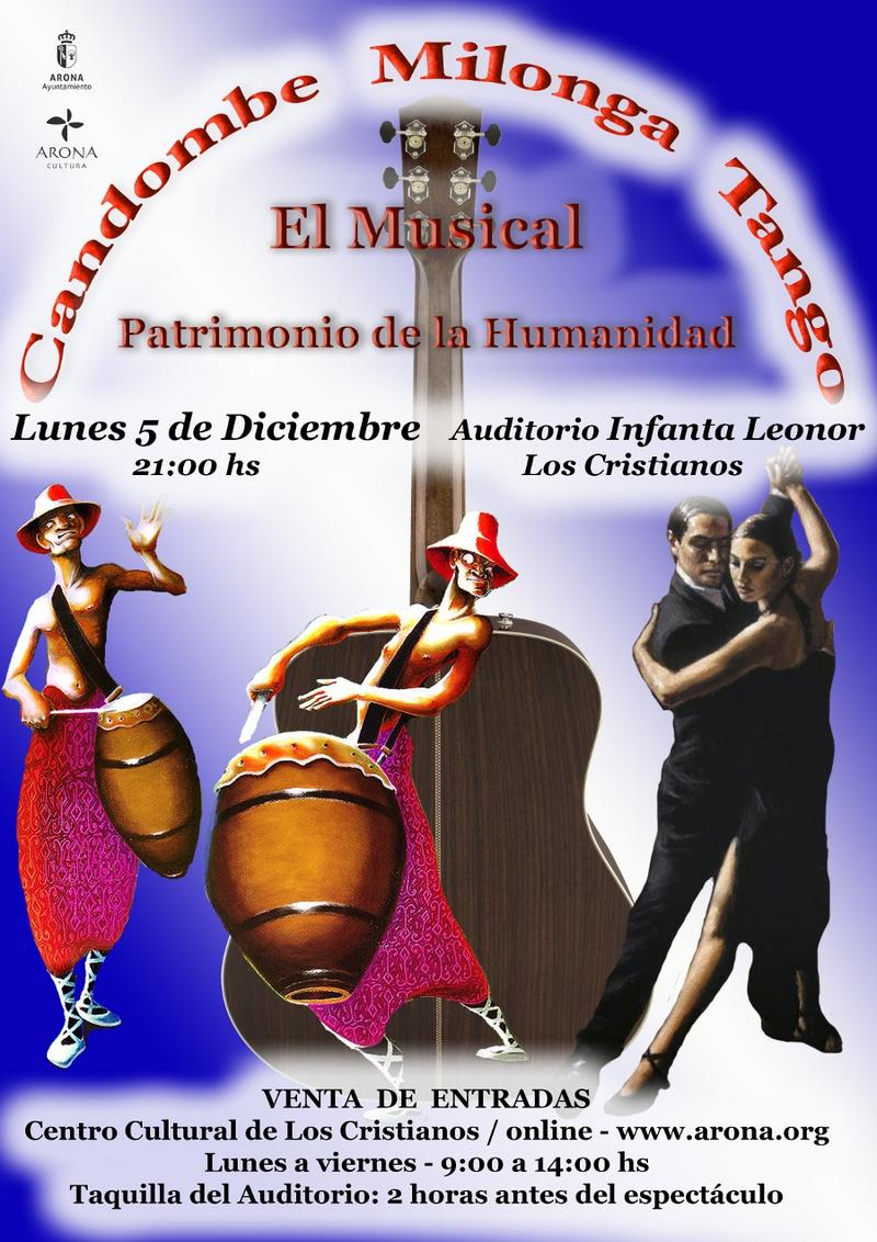 Latino Dancing Spectacular in Los CristIanos Auditorium