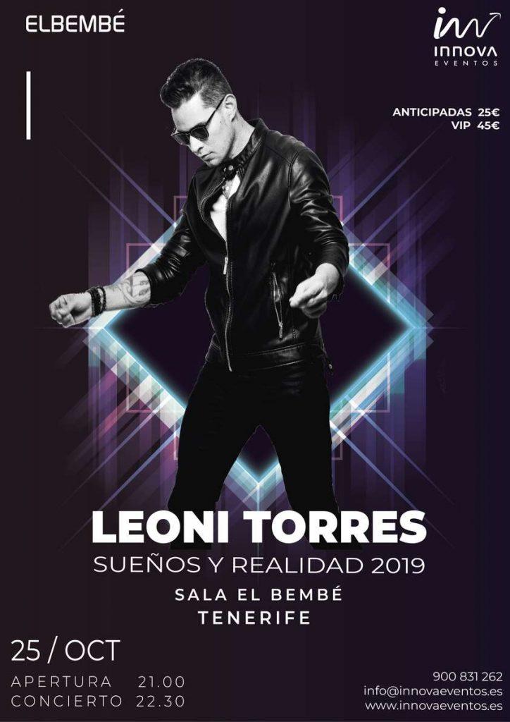 Leoni Torres Live