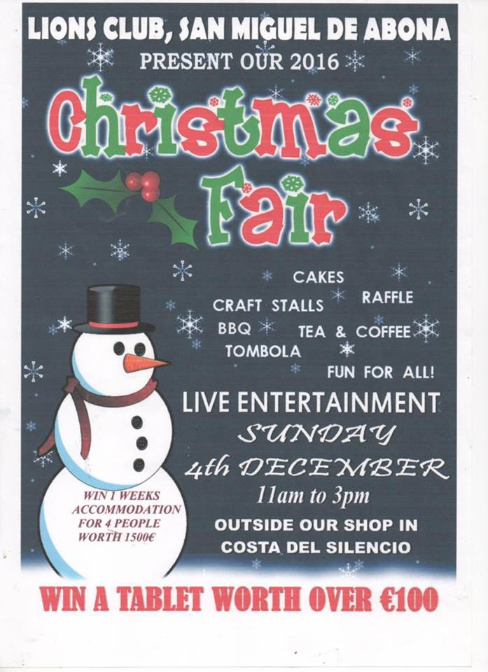 Lions Club Christmas Fair