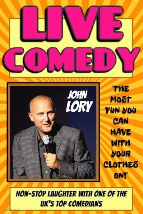 Live Comedy- John Lory