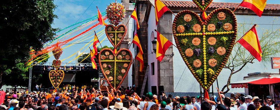 Los Corazones de Tejina Town Fiesta
