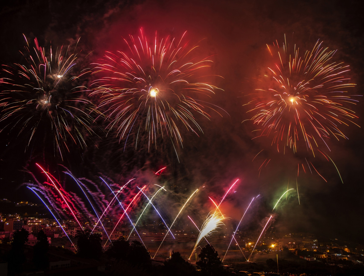 Los Realejos Fireworks Display 2018