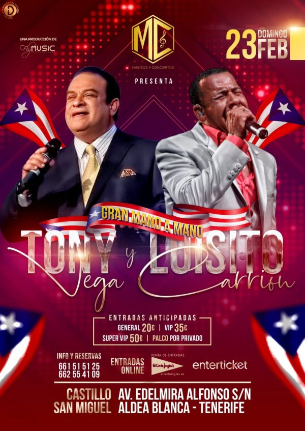 Luisito Carrión & Tony Vega Live