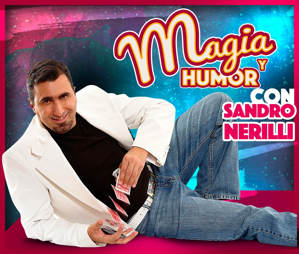 Magic and Humour with Sandro Nerilli in Santa Cruz