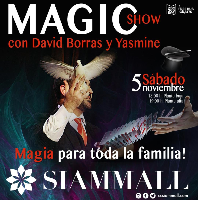 Magic Show in Siam Mall