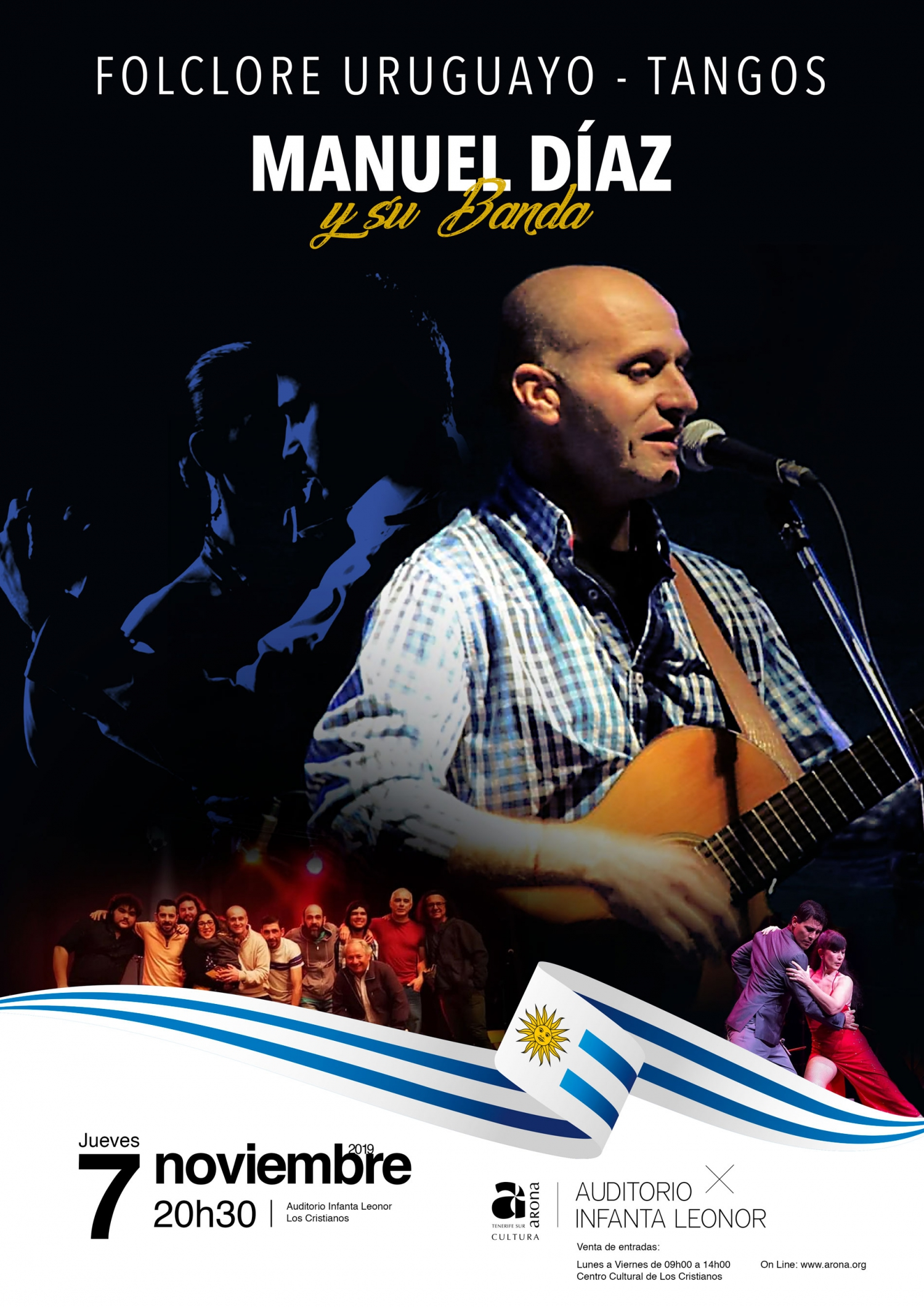 Manuel Diaz and his Uruguayan Band LIVE