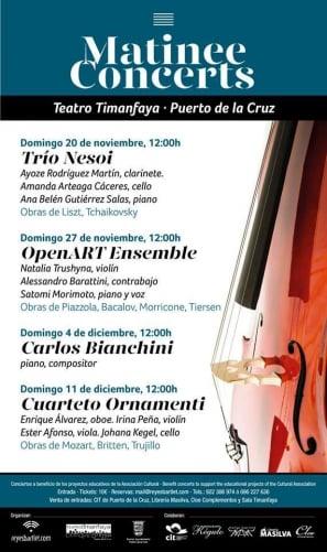 Matinee Concerts in Puerto de la Cruz