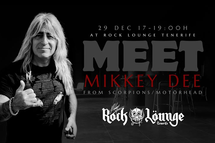 Meet'N'Greet with Mikkey Dee