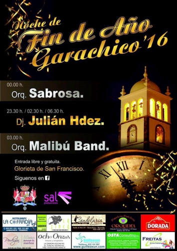 New Years Eve in Garachico