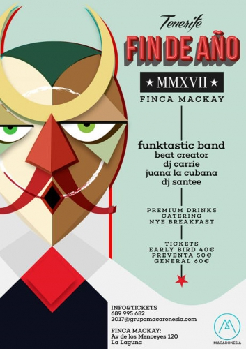 New Years Eve Party at Finca Mackay