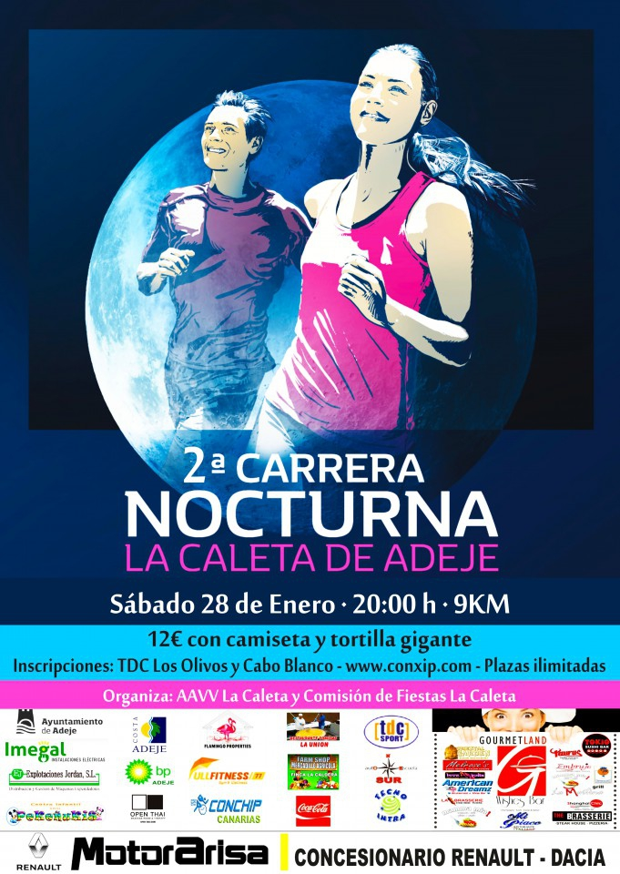 Night Race La Caleta