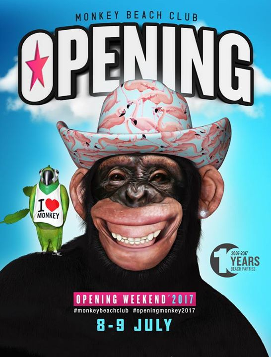 Opening'2017 Monkey Beach Club