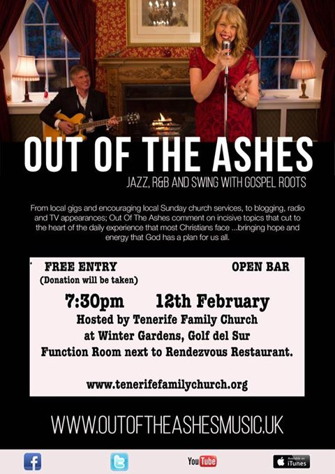 Out of the Ashes Concert at Tenerife Family Church