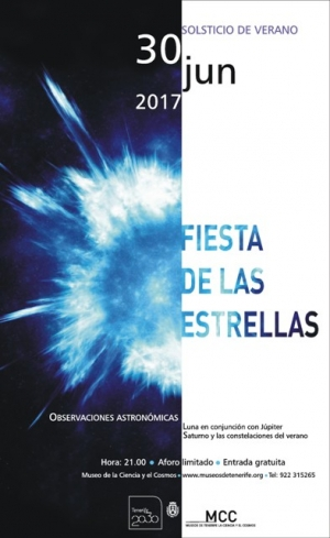 Party of the Stars in the Tenerife Science Museum