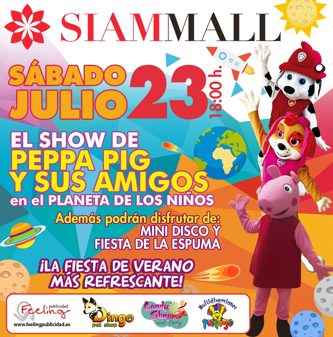 Peppa Pig and Friends @ Siam Mall