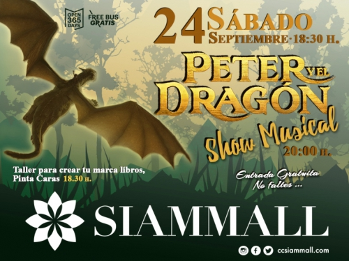 Peter and the Dragon Musical Siam Mall