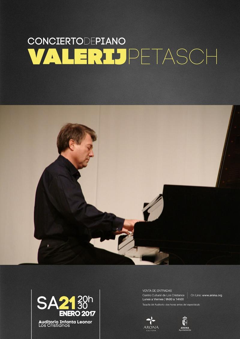 Piano Concert by Valerij Petasch in Los Cristianos