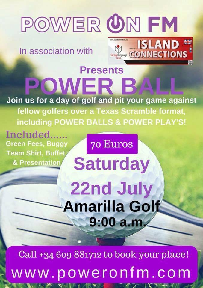 Power Ball Golf Tournament
