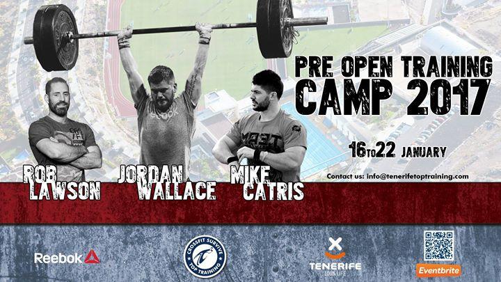Pre Open Training Camp 2017