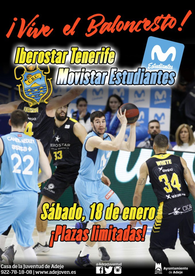 Pro Basketball - Iberostar Tenerife vs Estudiantes Movistar