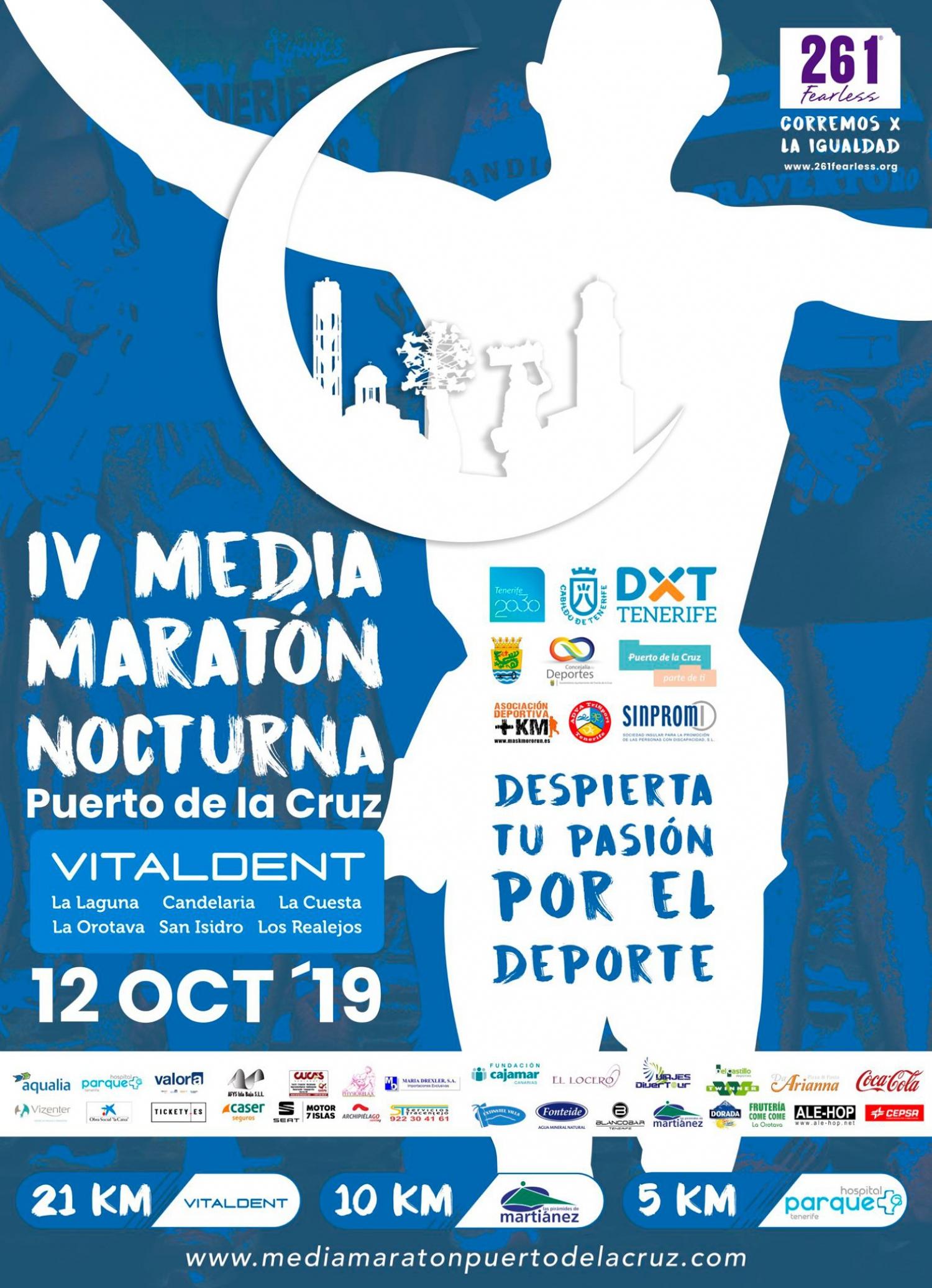 Nocturnal Half Marathon - Puerto de la Cruz